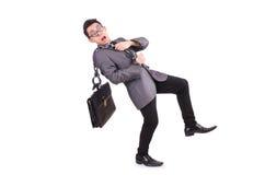Geïsoleerde mens met ketting Royalty-vrije Stock Fotografie