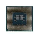 Geïsoleerde micropocessor Royalty-vrije Stock Afbeeldingen