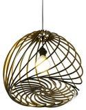 Geïsoleerde Moderne ontwerplamp Royalty-vrije Stock Fotografie
