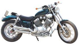 Geïsoleerde motorfiets royalty-vrije stock foto