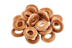 Geïsoleerde ongezuurde broodjes stock afbeelding