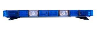 Geïsoleerde politie Stock Foto