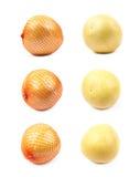 Geïsoleerde pompelmoesgrapefruit Royalty-vrije Stock Foto