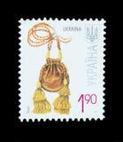 Geïsoleerde Postzegel Stock Afbeeldingen