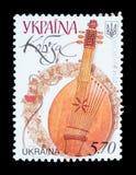Geïsoleerde Postzegel Stock Foto's