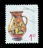 Geïsoleerde Postzegel Stock Afbeelding