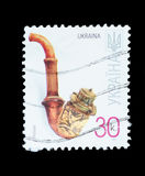Geïsoleerde Postzegel Stock Fotografie