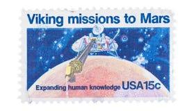 Geïsoleerde Postzegel Royalty-vrije Stock Foto