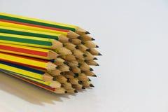 Geïsoleerde potloden Royalty-vrije Stock Fotografie