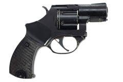 Geïsoleerde revolver stock afbeeldingen
