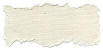 Geïsoleerde Rijstpapiertextuur - Room Witte  Royalty-vrije Stock Afbeeldingen