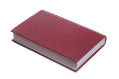 Geïsoleerde rood boek Royalty-vrije Stock Foto