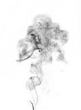 Geïsoleerde rook Royalty-vrije Stock Afbeelding