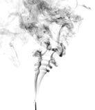 Geïsoleerde rook Royalty-vrije Stock Afbeeldingen