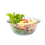 Geïsoleerde Salade Stock Fotografie