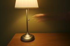 Geïsoleerde Samenvatting van Lamp stock fotografie