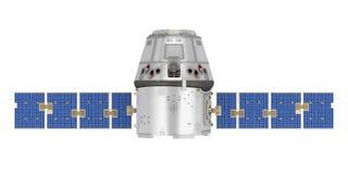 Geïsoleerde satelliet vector illustratie