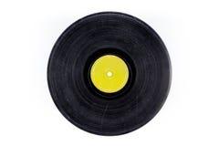 Geïsoleerde schijfmuziek Stock Foto's