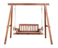 Geïsoleerde schommelingsstoel Royalty-vrije Stock Afbeelding