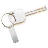 Geïsoleerde Sleutels op Wit met het Knippen van Weg Royalty-vrije Stock Afbeelding