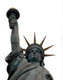 Geïsoleerde standbeeld van Vrijheid, stock foto's