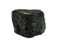 Geïsoleerde steenkool royalty-vrije stock afbeeldingen