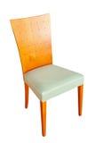 Geïsoleerde stoel stock afbeelding