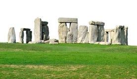 Geïsoleerde Stonehenge stock foto