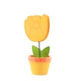 Geïsoleerde stuk speelgoed tulp Royalty-vrije Stock Afbeelding