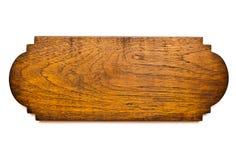 Geïsoleerde Teak Houten Plank stock foto
