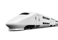 Geïsoleerde ultrasnelle trein Stock Foto