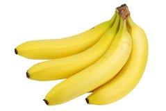 Geïsoleerde verse banaan Stock Foto