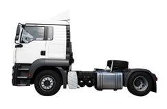 Geïsoleerde vrachtwagen Stock Foto's