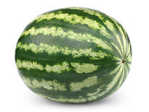Geïsoleerde watermeloen Stock Afbeelding