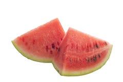 Geïsoleerde watermeloen. Stock Afbeeldingen