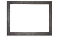 Geïsoleerde Zwarte Omlijsting Royalty-vrije Stock Foto