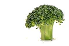 Geïsoleerde0 broccoli Stock Foto