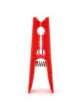 Geïsoleerde2 rode pin Stock Afbeelding