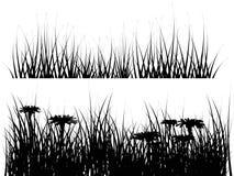 Geïsoleerde4 weideillustratie Vector Illustratie