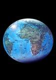 Geïsoleerdea aarde Stock Foto's