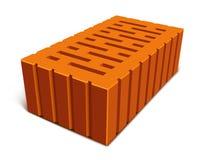 Geïsoleerdea baksteen voor huisbouw Royalty-vrije Stock Foto's