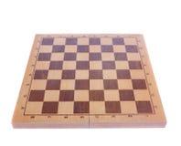 Geïsoleerdea de raad van het schaak Stock Fotografie