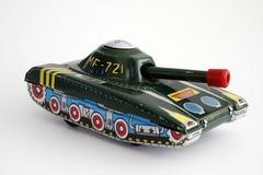 Geïsoleerdea de Tank van het stuk speelgoed Royalty-vrije Stock Afbeelding