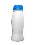 Geïsoleerdea het plastiek van de fles Stock Fotografie