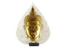 Geïsoleerdea het standbeeld van Boedha royalty-vrije stock foto