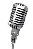 Geïsoleerdea microfoon Royalty-vrije Stock Foto