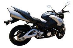 Geïsoleerdea motorfiets Stock Afbeeldingen