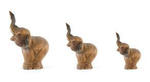 Geïsoleerdea olifanten Royalty-vrije Stock Foto