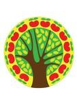 Geïsoleerdeb de boom van de fee stock illustratie