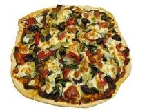 Geïsoleerdeb Siciliaanse pizza royalty-vrije stock foto's